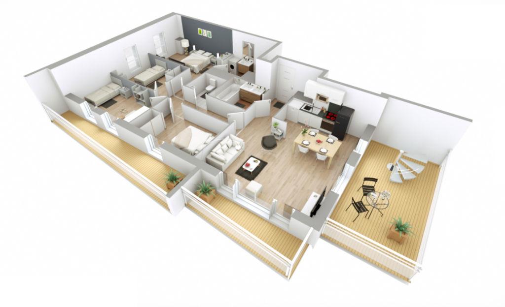 Appartement T5 - 92m2 - 78000 Versailles