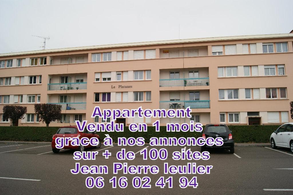 Appartement 4 pièces 69 M²  AVEC GARAGE