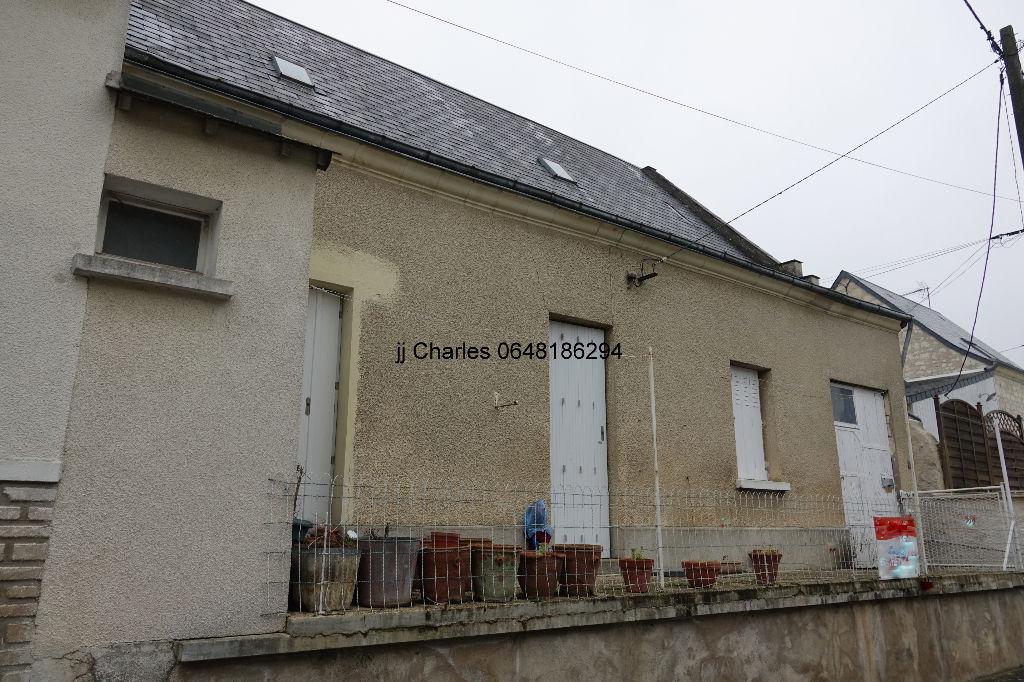 Maison centre Bourgueil 3 pièce(s) 45 m2
