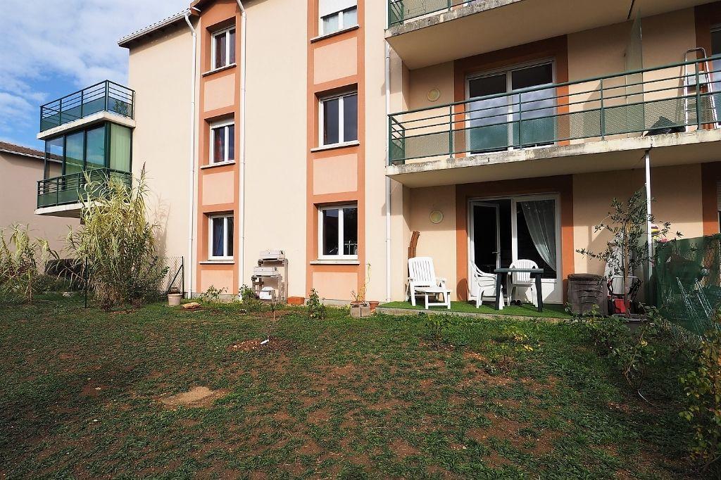 appartement  T3 60m² avec jardin