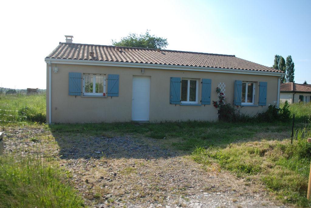 Maison récente ,Civrac De Blaye 6 pièce(s) 100 m2