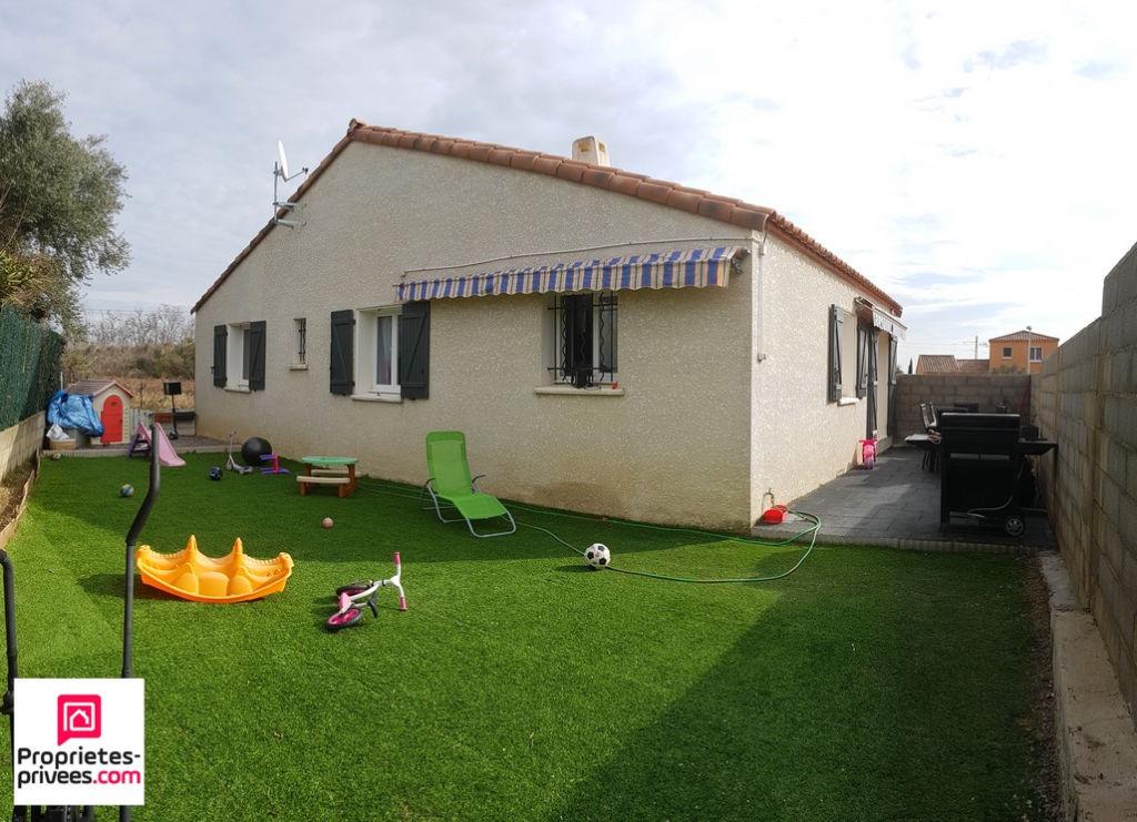Villa 3 chambres de 90m² sur 355m² de terrain