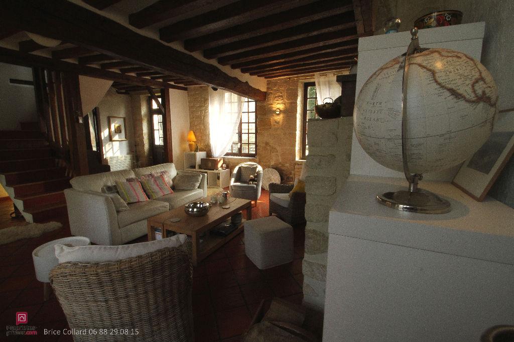 vente maison en pierre 130 m nogent sur oise 60180. Black Bedroom Furniture Sets. Home Design Ideas