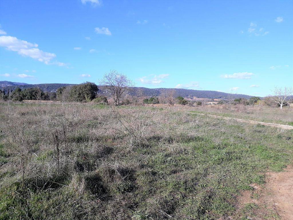 Terrain  plat de 2647 m2  avec vue dégagée