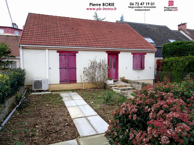 Maison plain-pied, 3 chambres, sous-sol, garage