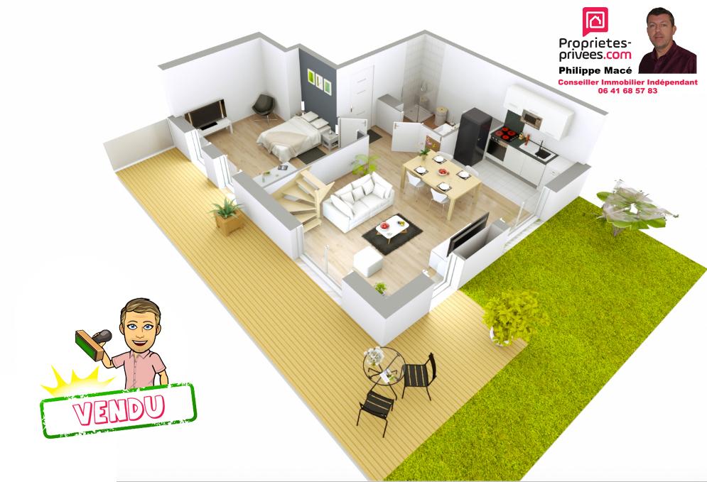 Appartement T4 Duplex - 74m2 - 95380 Louvres