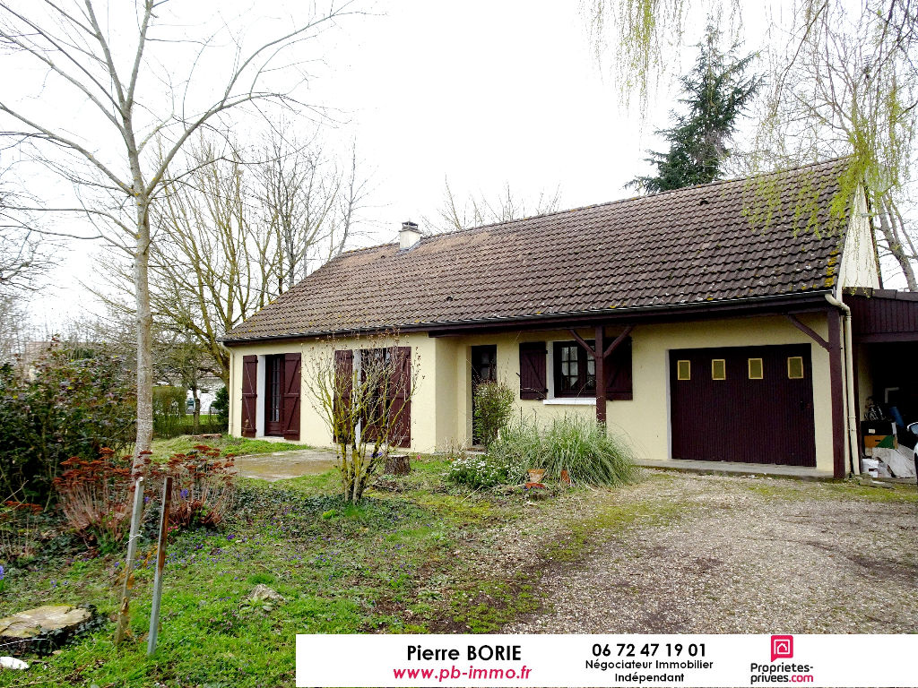 Maison plain-pied, non mitoyenne à Grangeroux avec garage et jardin