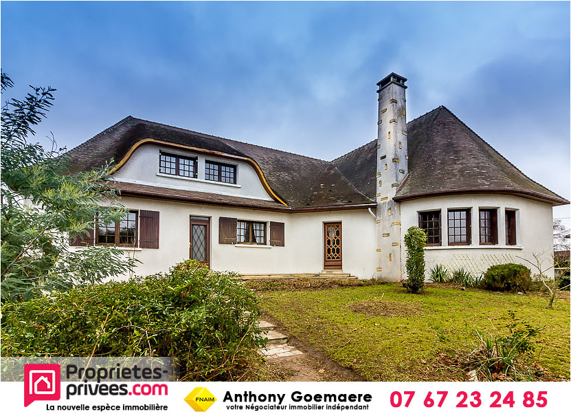 Maison 8 pièces 235 m² + entrepôt 400 m²