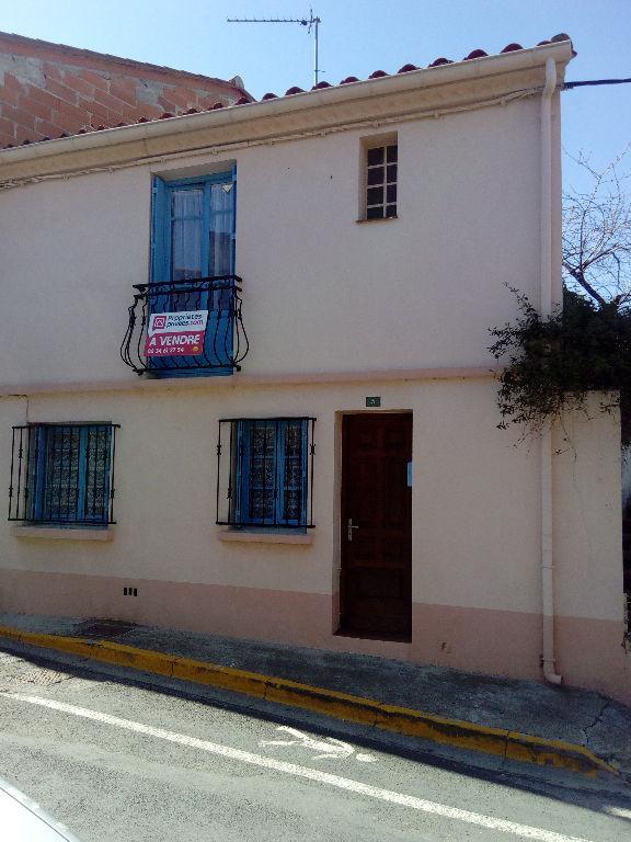 Montesquieu des Albères Maison de  village 2 pièce(s) 34 m2