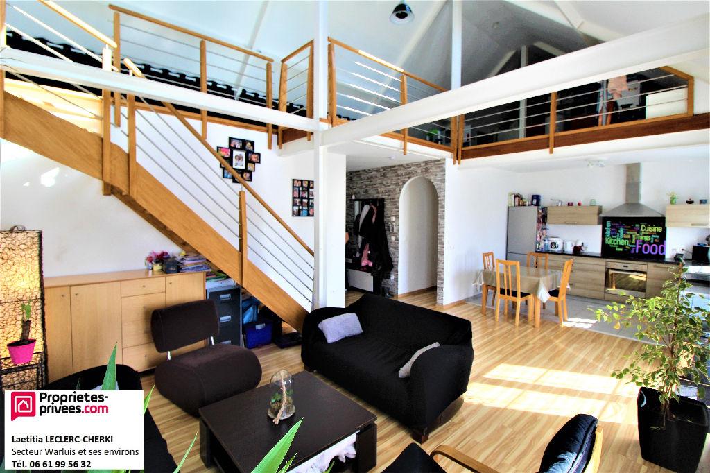 SAINTE GENEVIEVE (60730) - Maison d'environ 110m² - 5 pièces