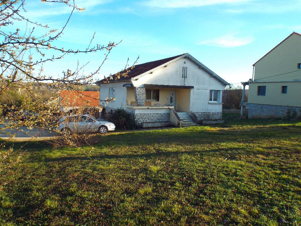 maison moderne à Dampierre terrain 13 ares