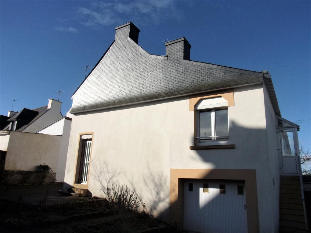 56600 Lanester Maison 67 m² + garage, sur  340 m² de terrain 2 ch Prix attractif 89990  HAI