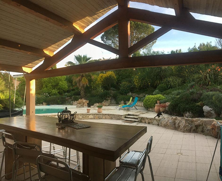 Villa boujan sur libron avec sous sol et piscine