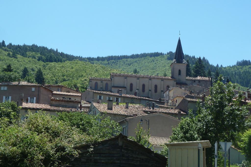 A vendre, secteur Castres-Mazamet une maison avec 2 appartements  aux portes de la nature