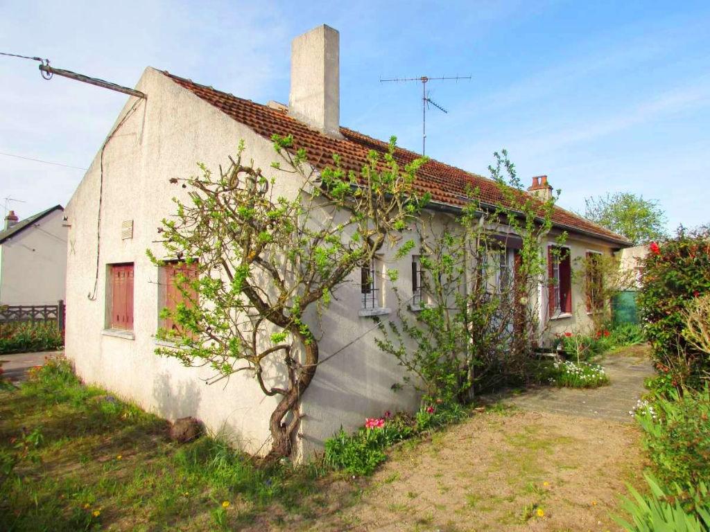 Maison Plain pied à Fleury Les Aubrais