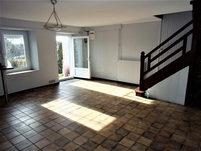 56600 Lanester St Guénaël votre future maison T3 mitoyenne des 2 côtés d environ 557m2 avec jardin d'environ 200 m2 Prix attractif 84990 HAI