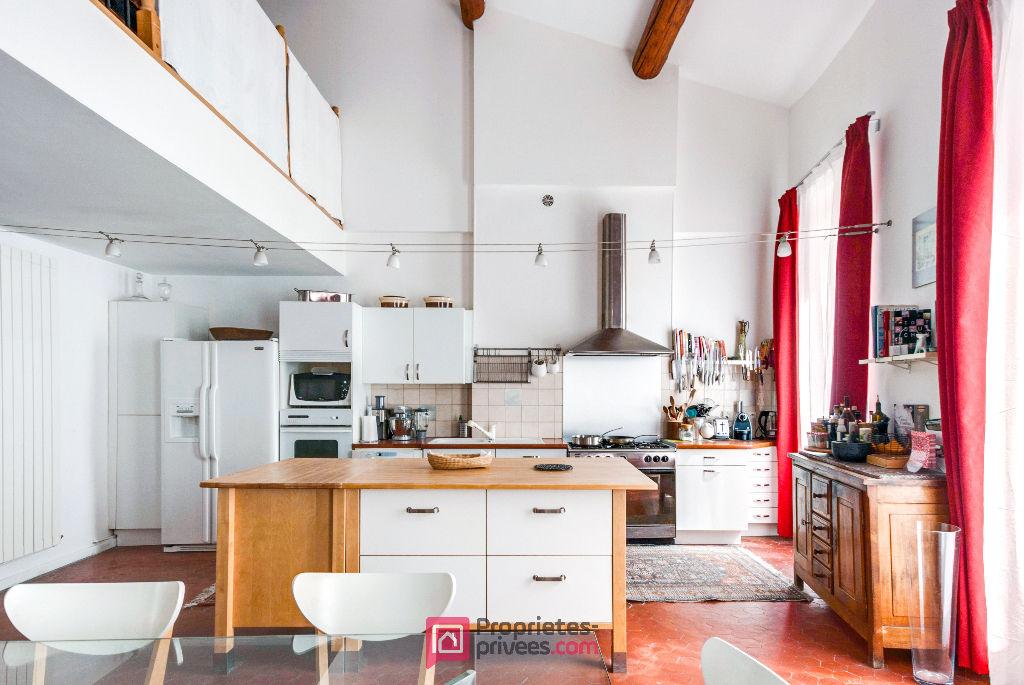 MARSEILLE (13001)  LA PLAINE - Exclusivité - Loft Duplex Dernier Etage - 211 m2