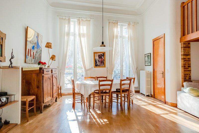 Appartement Haussmannien - 4 pieces - 168 m2