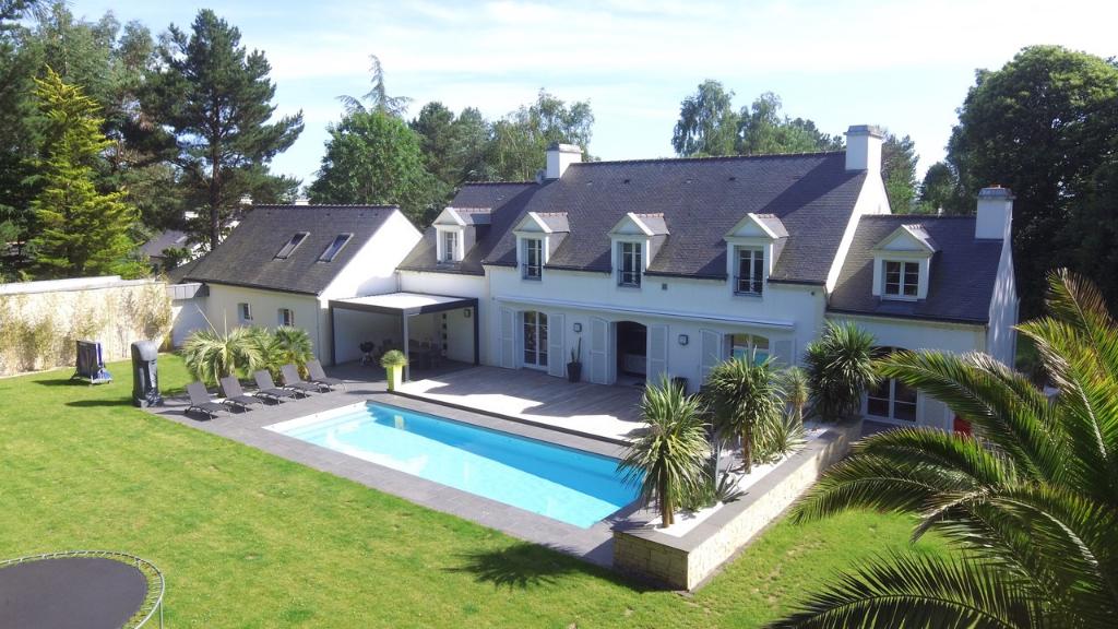 Demeure de prestige Vannes 13 pièces 340 m2 avec dépendance, parc de 6000m2, piscine