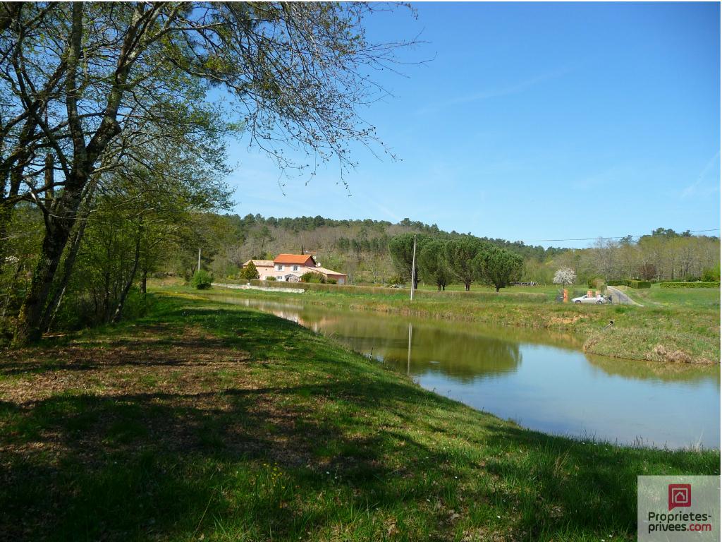 Terrain avec étang, Fumel (47500)