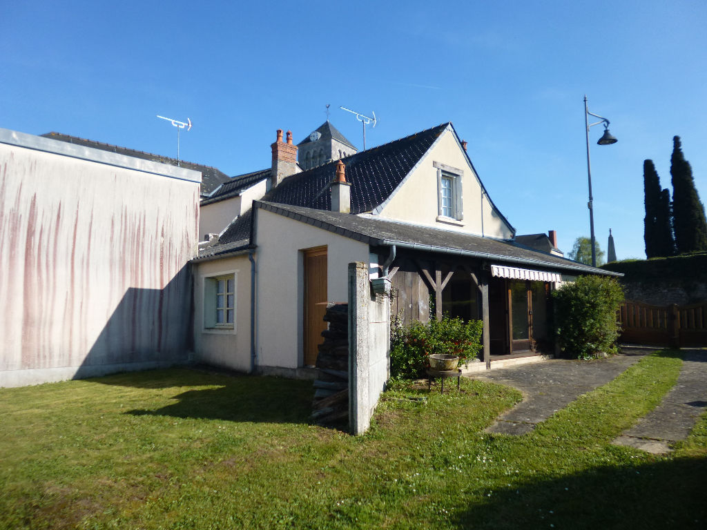 Saint Brice Maison de bourg avec jardin  3 pièce(s) 77 m2
