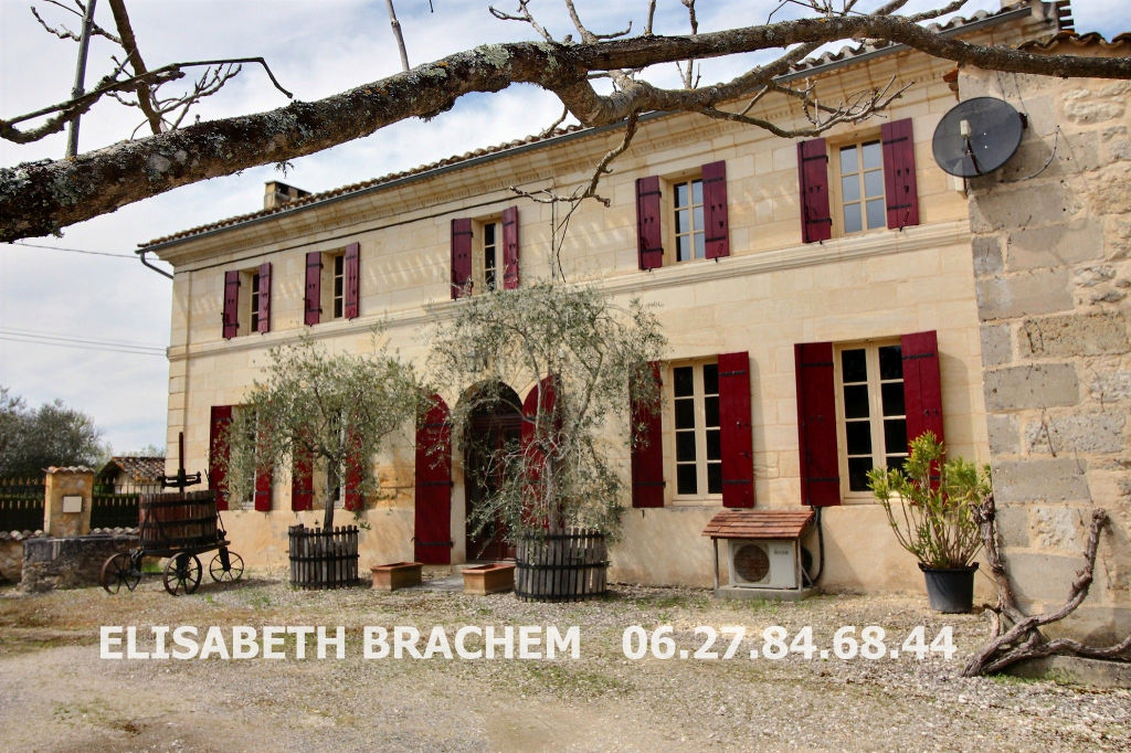 Maison en pierre - 5 pièce(s) 173m² - 3 chambres - 5050m² terrain - piscine