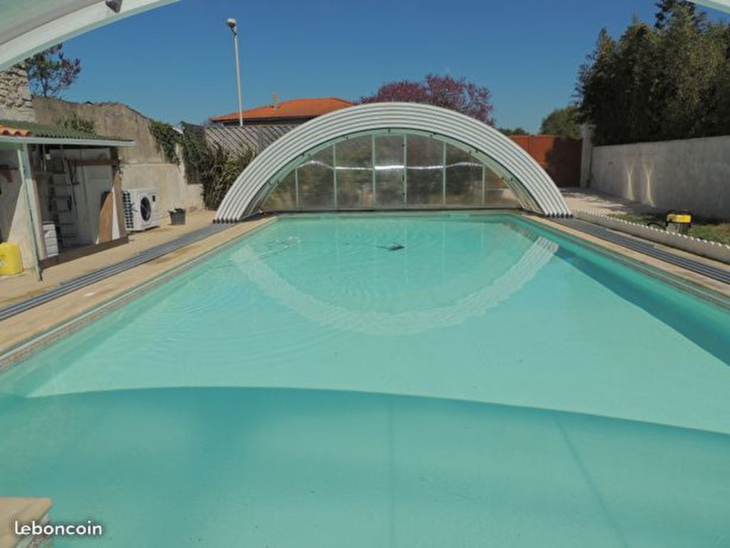 Maison avec superbe piscine chauffée et couverte, Dolus D Oleron 3 pièce(s) 79 m2