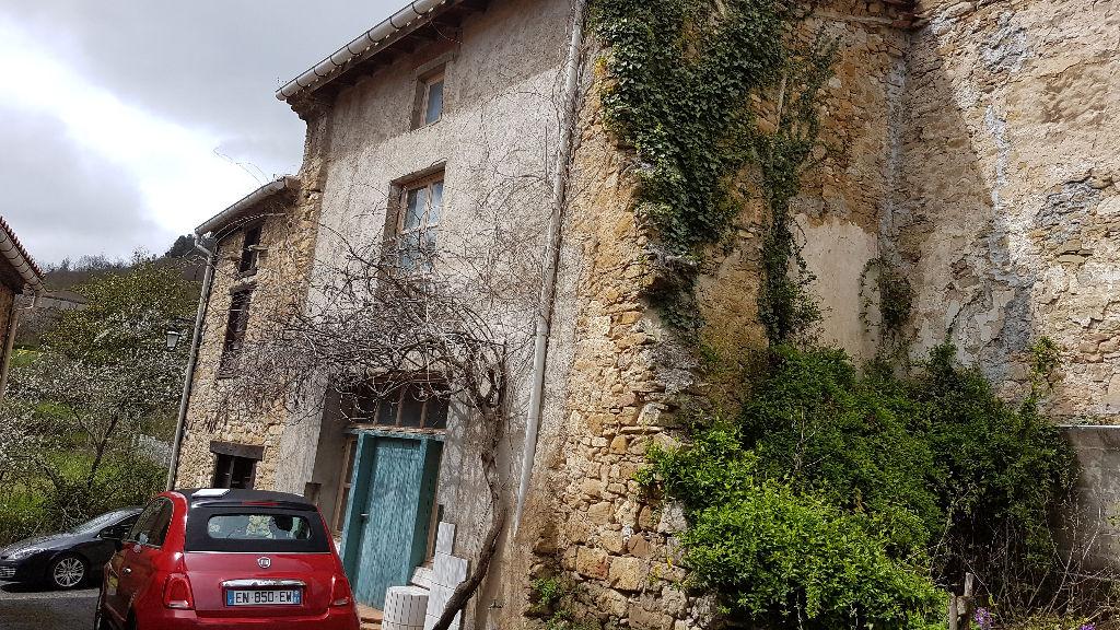 maison de village en pierre toiture neuve 90m² entièrement refait avec goût