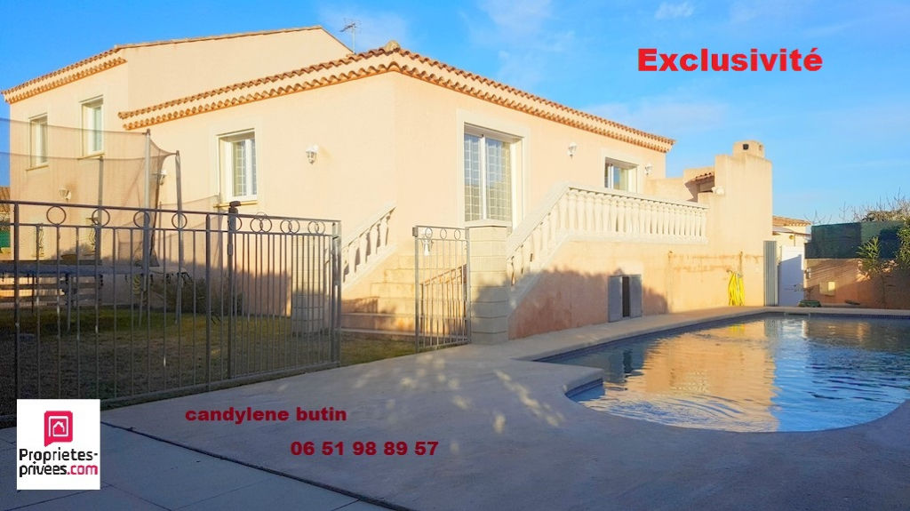 exclusivité!! Villa 128m²  avec  piscine  dans un quartier residentiel
