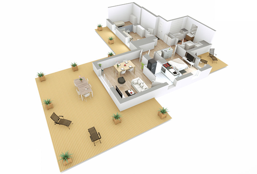 Appartement T4 - 81m2 - LES PAVILLONS SOUS BOIS (93320)