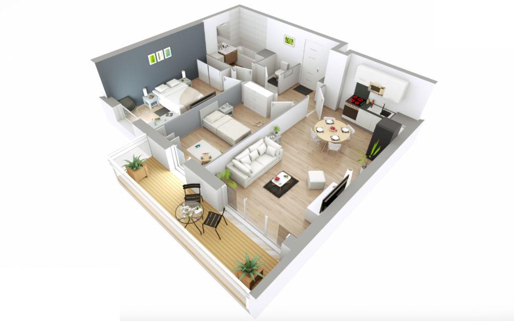 Appartement T3 - 60m2 - LES PAVILLONS SOUS BOIS (93320)