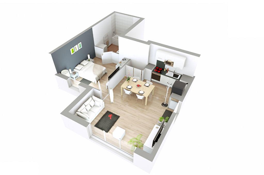 Appartement T2 - 43m2 - LES PAVILLONS SOUS BOIS (93320)