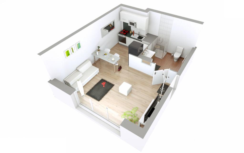 Appartement T1 - 26m2 - LES PAVILLONS SOUS BOIS (93320)