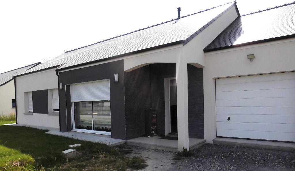 Maison 110m² de plain pied, 3 chambres