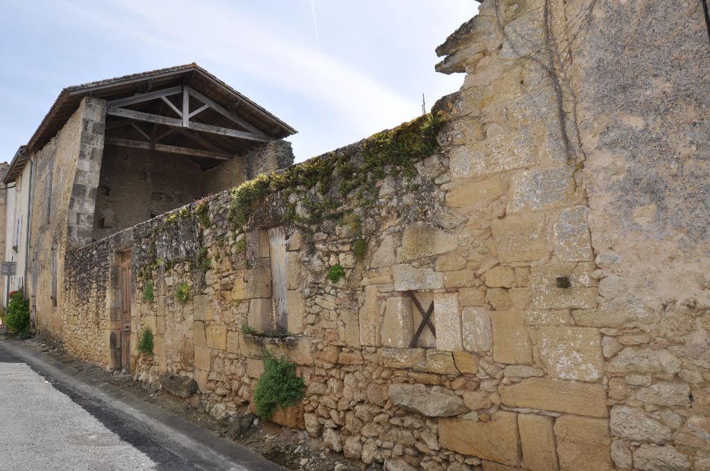 Grange Blasimon 1 pièce(s) 50 m2 - terrain constructible 610M2- 47 990 Euros HAI