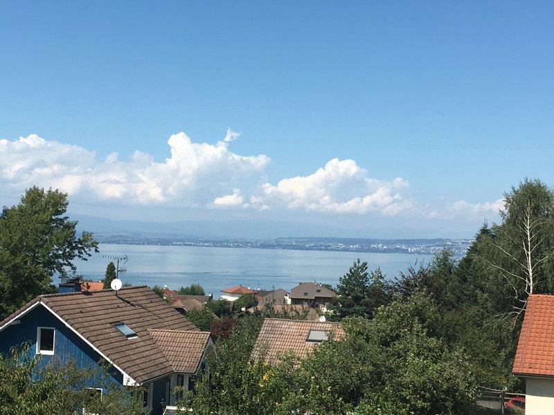 A 5mn d Evian et embarcadaire, MAISON 8P vue lac