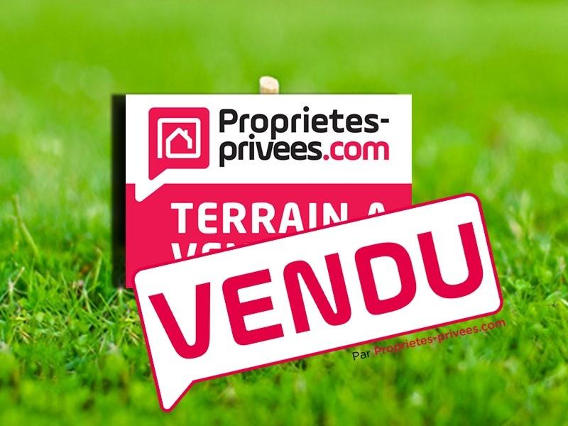 Terrain à bâtir de 700 m² proche d'Angers (49460)