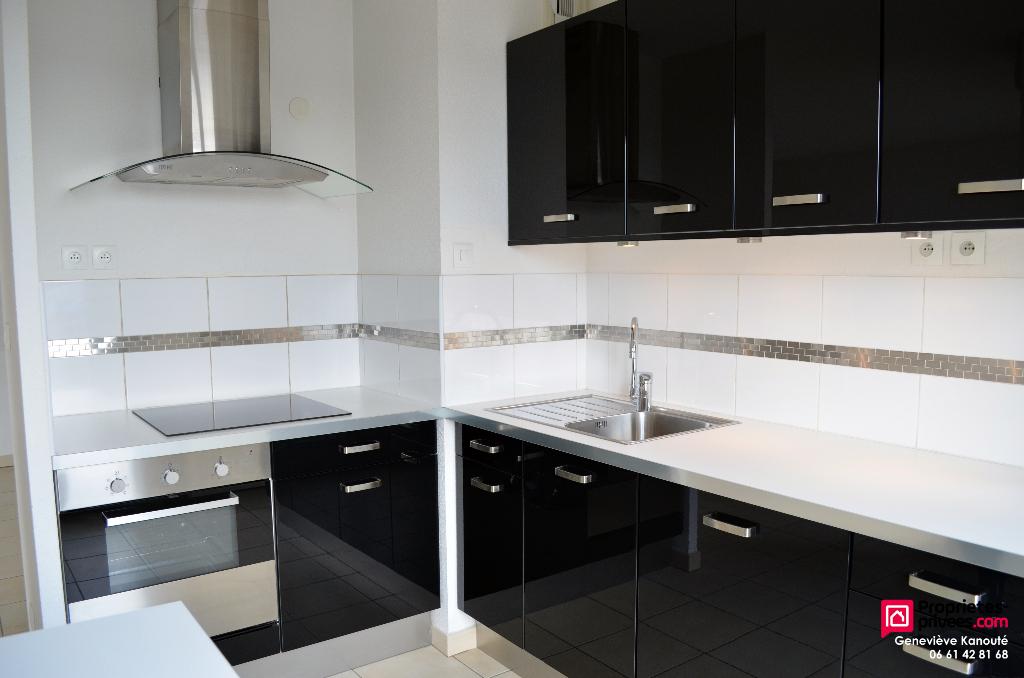 Appartement lumineux avec 3 chambres dans résidence récente