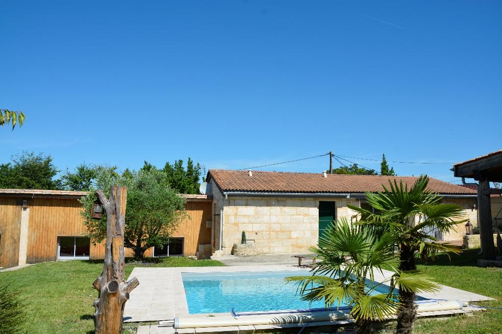 Vente maison  m² TAURIAC (33710) proche de ST ANDRE DE CUBZAC