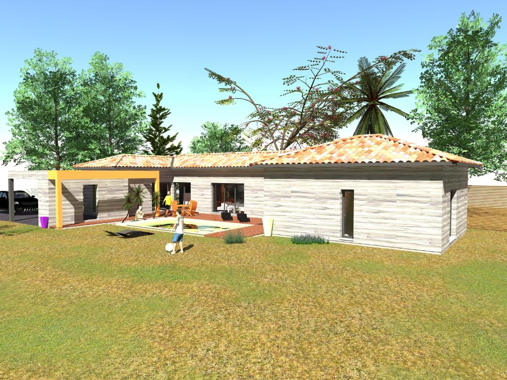 Projet de construction - Villa personnalisable 140m² avec piscine