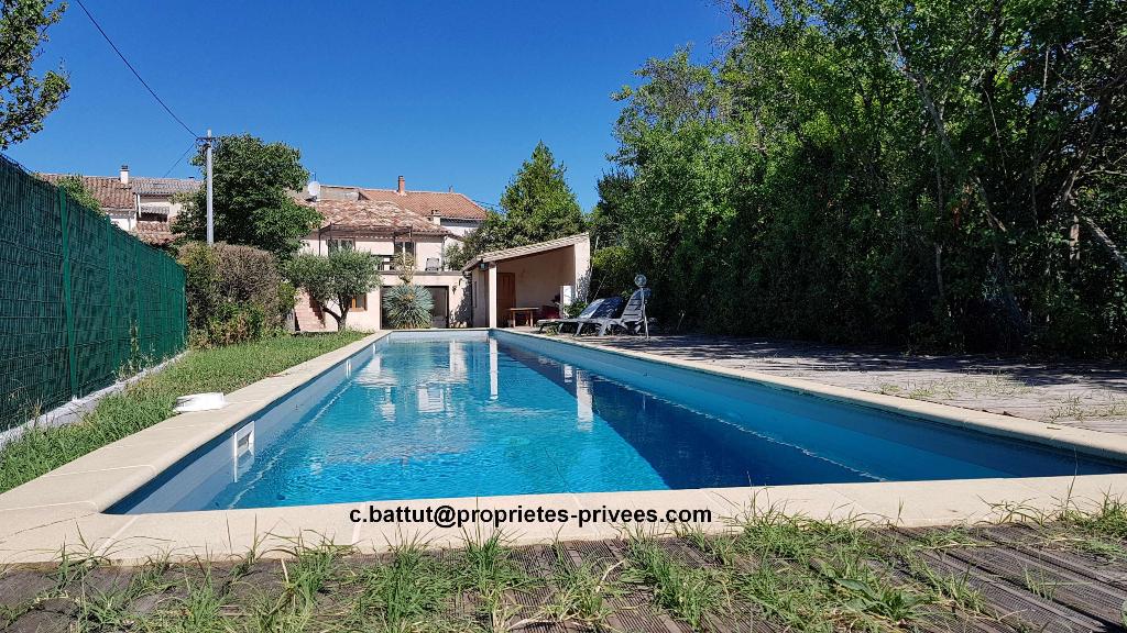 Maison Pierre rénovée, 119m², piscine de nage