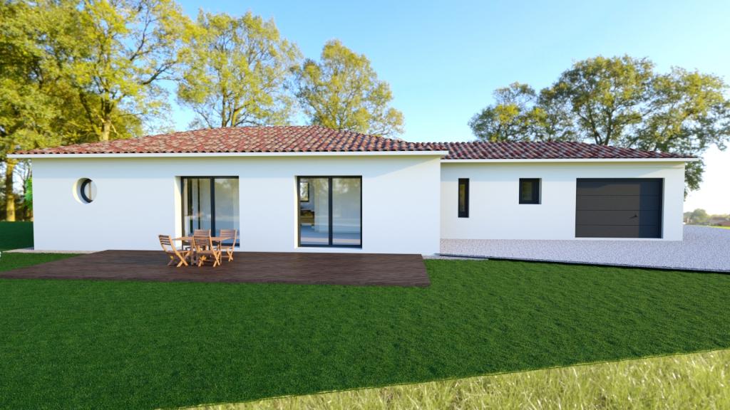 Projet de construction sur Tonnay Charente secteur La Noue 1084 m2