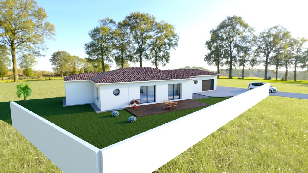 Projet de construction sur Tonnay Charente secteur La Noue 778 m2