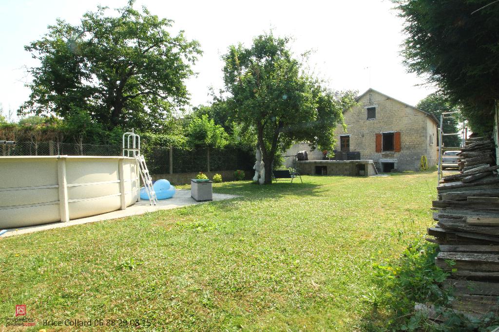 60180 Maison piscine grand terrain plat Vieux Nogent sur Oise