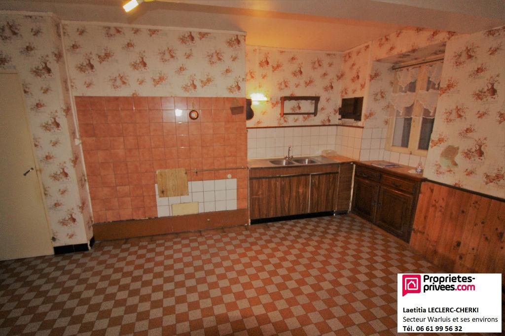 HERMES (60370) - Maison à rénover d'environ 95m² - 2 chambres
