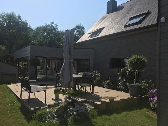 Maison Crevin avec piscine (traitée au sel) - 7 pièce(s) 190 m2