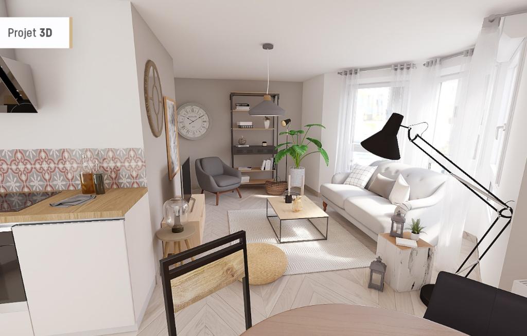 Appartement  Plage Perros Guirec T1 bis 34 m2