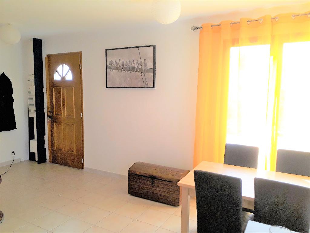 Appartement  loué de 55 m2 avec extérieur