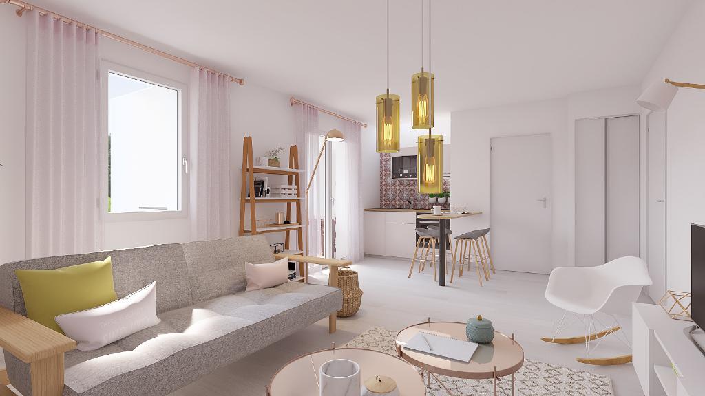 Appartement T2 avec climatisation et terrasse dans le centre de Grimaud