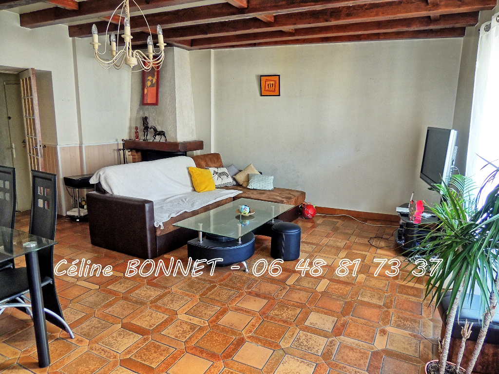 Maison appartement 110m², 3 chambres, garage
